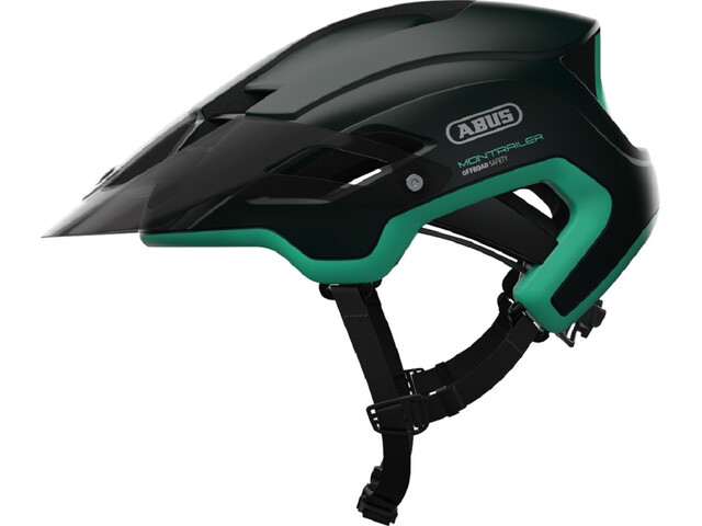 ABUS Montrailer Fietshelm groen/petrol